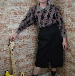 Vintage ILGWU  Pencil Skirt